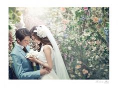 Beautiful romantic Wedding Picture / South Korea