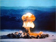 New Mexico, July 16, 1945 (First Atomic Bomb Explosion)