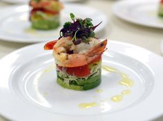Roasted king prawns with shaved fennel, orange, mint, tomato and avocado salad with palm sugar & lime dressing Trout Recipes, Crab Recipes, Shrimp Avocado Salad, Oyster Recipes, Palm Sugar, Scallop Recipes, Lime Dressing, Fennel, Fish And Seafood