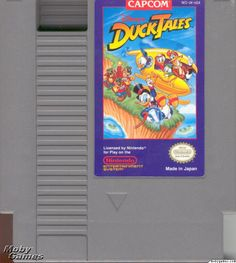 The spiders used to freak me out! - Ducktales NES