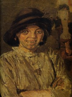 "Walter Sickert, ""Chicken""."