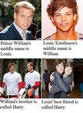 Coincidence? I think not! This just proves louis has always been a prince in disguise