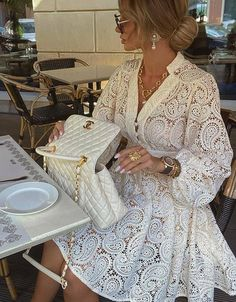 Classy Dress, Classy Outfits, Stylish Outfits, Dress Outfits, Fashion Dresses, Dresses Dresses, Mode Ootd, Elegantes Outfit, How To Look Classy