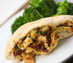 Artichoke and sun-dried tomato stuffed chicken breasts — Pip and Ebby