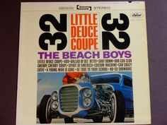 The Beach Boys - Little Deuce Coupe 32 - Surf Rock - Brian Wilson - Original Capitol Records 1963 - Vintage Vinyl LP Record Album by notesfromtheattic on Etsy