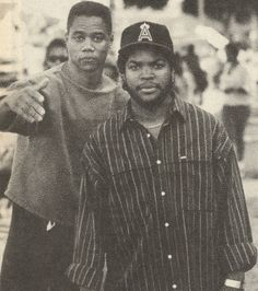Cuba Gooding Jr. & Ice Cube in Boyz N The Hood