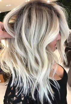 These beautiful and trendy hair color shades 2017 2018 are best for chic and lazy girls. They can create it easily because it is low maintenance and timeless.