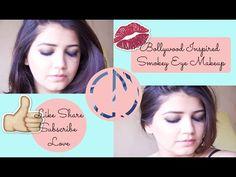 Bollywood Inspired Smokey Eye Makeup | Classic Mia - YouTube