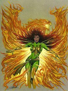 Jean Grey - Phoenix by David Michael Beck * Jean Grey Phoenix, Dark Phoenix, Xmen Comics, Anime Comics, Marvel Girls, Marvel Heroes, Marvel Women, Marvel Characters, Female Characters