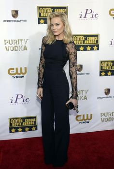 red carpet b day womens outfits | Actress Margot Robbie arrives at the 19th annual Critics' Choice Movie ...