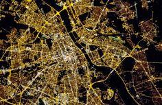 Sfotografowali Warszawę zwykłą lustrzanką... z pokładu stacji kosmicznej