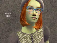 Cat eyes glasses - recolors - Sims LJ