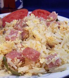 Ham and Egg Jambalaya