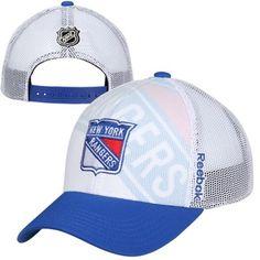 Youth New York Rangers Reebok White 2014 NHL Draft Adjustable Hat