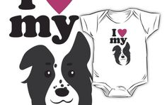 I Love My Dog Kids Shirt #dogs #puppies #pets #love #animals
