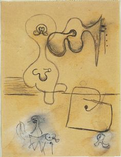Joan Miró. Study for Dutch Interior, I. (Summer 1928)