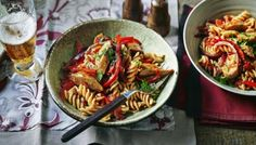 BBC Food - Recipes - Bill's spicy sausage pasta