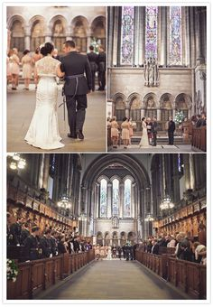 University of Glasgow Chapel wedding ceremony