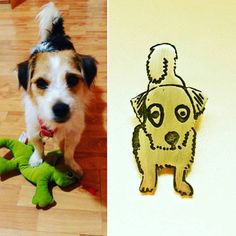 Mira este artículo en mi tienda de Etsy: https://www.etsy.com/es/listing/474800445/caricatura-de-tu-mascota