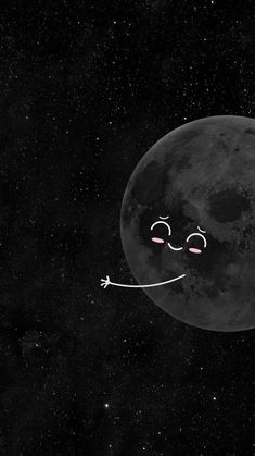 Iphone Wallpaper Moon, Black And White Wallpaper Iphone, Sassy Wallpaper, Space Phone Wallpaper, Cute Black Wallpaper, Best Friend Wallpaper, Cute Panda Wallpaper, Cute Couple Wallpaper, Black Background Wallpaper