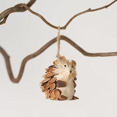 Woodland Hedgehog Ornament / Terrain