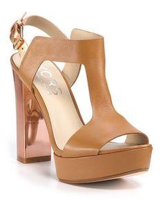 7964f80333 I love this KORS Michael Kors Vernon Platform Sandals (via Shop It To Me)