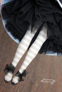 """Блог Мои любимые игрушки. Анна Балябина, авторские куклы и игрушки: Мастер-класс """"Подъюбник для текстильной куклы"""""""