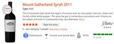 Mount Sutherland Syrah 2011 Type: Red This Continental style Syrah has layers of aromas such as rose petals, cherries, cloves and freshly milled white pepper. The wine has got a tremendous succulence and richness on the palate and ends in a pleasantly long, ripe aftertaste. R166.00 per bottle* Rose Petals, Cherries, Wines, November, Layers, Stuffed Peppers, Type, Bottle, Red