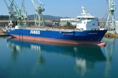 Brodosplit delivers second ship to Jumbo