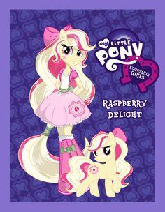 MY LITTLE PONY: Equestria Girls OC - Raspberry Delight by chunk07x.deviantart.com on @deviantART