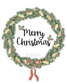 Free Merry Christmas Printable
