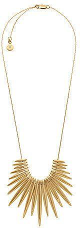 Michael Kors Gold-Tone Fringe Necklace