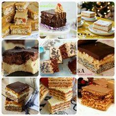 10 retete de prajituri pentru craciun Romanian Desserts, Romanian Food, Something Sweet, Food Design, Nutella, Cooking Recipes, Easy Recipes, Marshmallows, Easy Meals