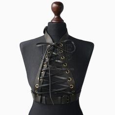 Кожаная портупея Belt Leather Oblepikha