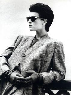 Antonia Dell'Atte Fall/Winter 1984-1985, photo by Aldo Fallai, courtesy of Giorgio Armani
