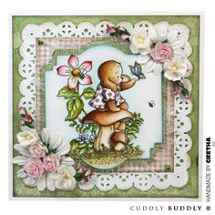 Pachela Studios Digi Stamp - Toby Tumble Special Friends < Craft Shop | Cuddly Buddly Crafts