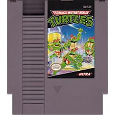 NES – Teenage Mutant Hero Turtles Nintendo Nintendo Entertainment System (NES) www. Used Video Games, First Video Game, Retro Video Games, Teenage Mutant Ninja Turtles, Ninja Turtle Videos, Turtle Games, Nes Games, Gameboy Games, Arcade Games