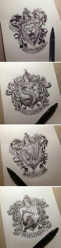 {Harry Potter} I can also draw like this