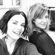 Hellloooooooo from #BLINDSPOT  with @spasicov #makeup
