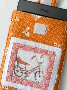 Sew a new case for your Kindle or eReader in a flash with this quick and easy Kindle Cover tutorial. Full color photos help you every step of the way.