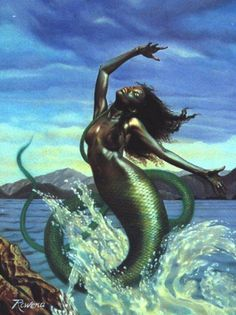 ever see a black mermaid?