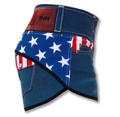 Women's Liberty Running, Gym and Workout Shorts Perfect for Marine Corps Marathon, Labor Day or all-year long Patriotism!