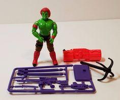 Vintage GI Joe Blanka Green Street Fighter II Hasbro Action Figure 1993 Weapons…