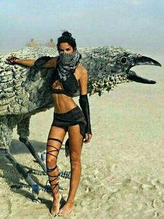 Burning Man fashion #raveoutfits