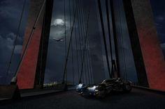 Turkish Airlines leva Batmóvel para atravessar a nova ponte do Bósforo