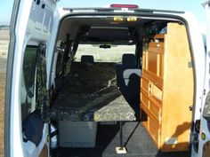 A bed for one - TC RV Conversion - Photos - Ford Transit Connect Forum