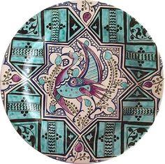 . Turkish Tiles, Turkish Art, Glass Ceramic, Ceramic Art, Tile Art, Sacred Geometry, Porcelain, Pottery, Plates
