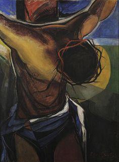 Roy de Maistre - Crucifixion, ca. 1942