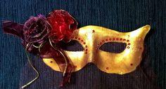 Arte em Biscuit Regiane Carolina: Máscara de baile
