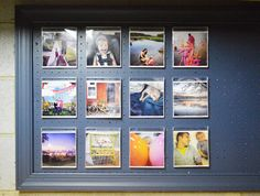 instagram prints + cd cases | Young House Love